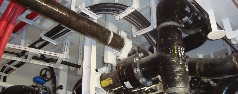 NOV GLASS REINFORCED EPOXY (GRE) BONDSTRAND PIPES BWMS