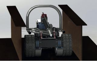M8 VERTIDRIVE ROBOTIC CARGO HOLD CLEANING CRAWLER